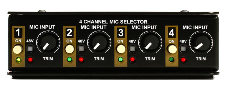 Radial Gold Digger 4-channel Mic Selector image 1