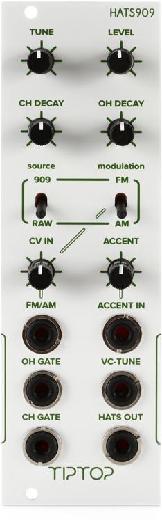 Tiptop Audio HATS909 Eurorack Hi-hats Module image 1