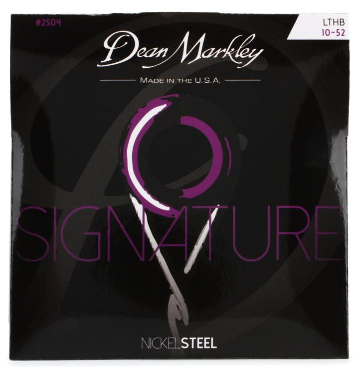 Dean Markley 2504 Nickel Steel Electric Guitar Strings - .010-.052 Lt Top/Hvy Bottom image 1