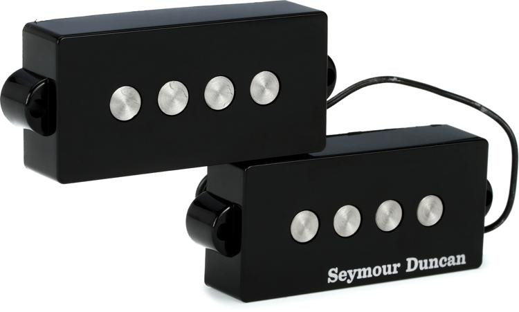 Seymour Duncan SPB-3 Quarter Pound P-Bass Pickup - Black image 1