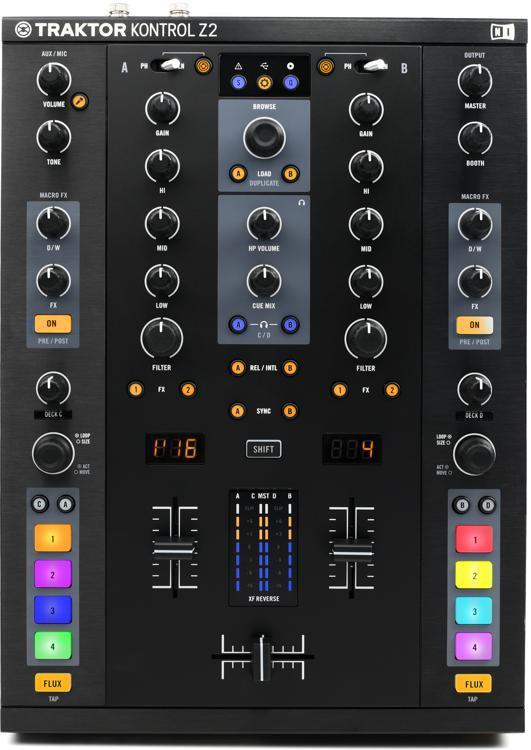 Traktor Kontrol Z2 DJ Mixer, Traktor Controller and Interface