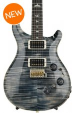 PRS Custom 24 Piezo 10-Top - Faded Whale Blue with Pattern Regular Neck