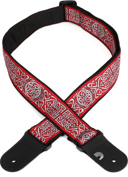 D\'Addario Planet Waves 50mm Woven Guitar Strap - Celtic image 1