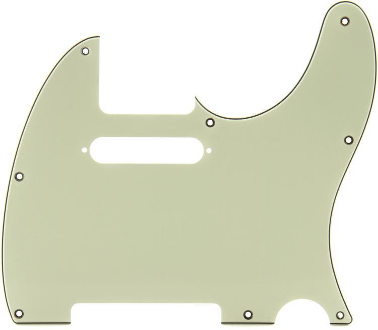 Fender Standard Telecaster Pickguard - Mint Green 8-Hole image 1