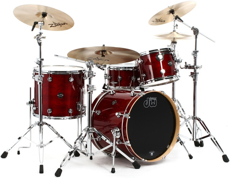 DW Performance Series 4-piece Shell Pack with Snare Drum - 20