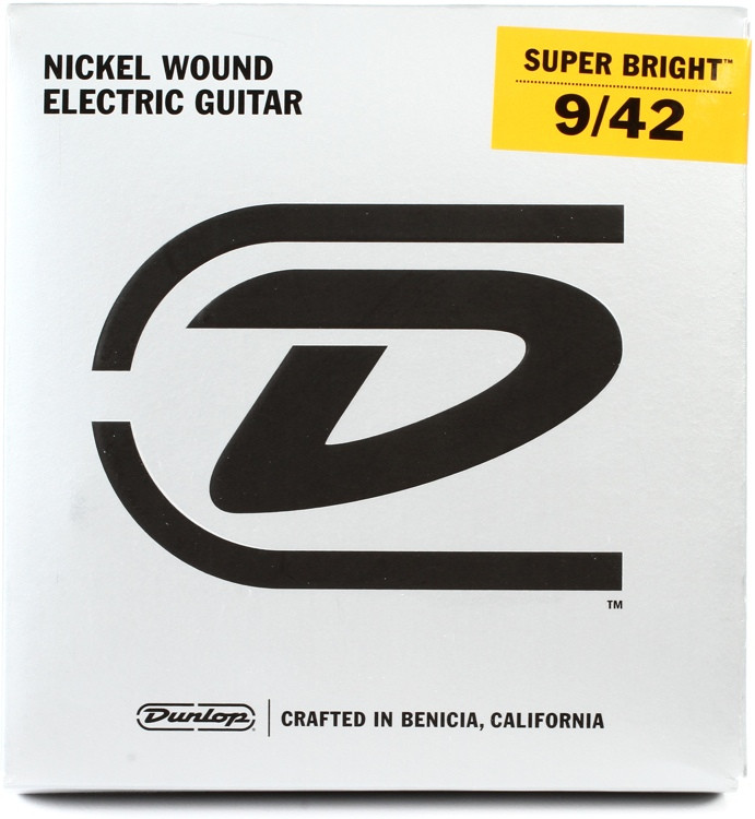 Dunlop DESBN0942 Super Bright Electric Strings - .009-.042 Light image 1