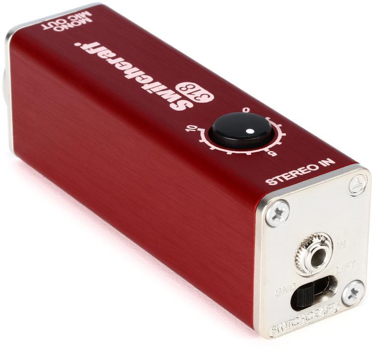 Switchcraft 318 Mini AudioStix 1-channel Passive Laptop Direct Box image 1