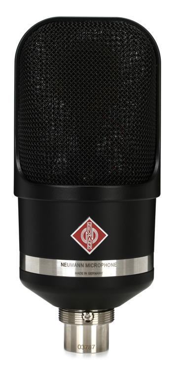 Neumann TLM 107 Large-diaphragm Condenser Microphone - Matte Black image 1