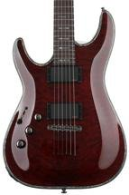 Schecter Hellraiser C-1 Left-handed - Black Cherry