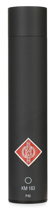 Neumann KM 183 Small-diaphragm Omnidirectional Microphone - Matte Black image 1