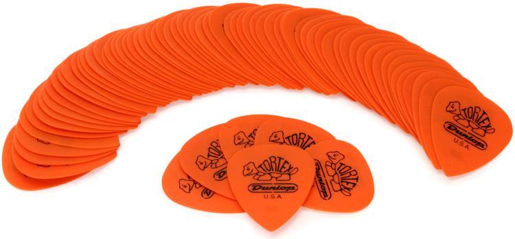 Dunlop 462R.60 Tortex III .60mm Orange Guitar Picks 72-Pack image 1