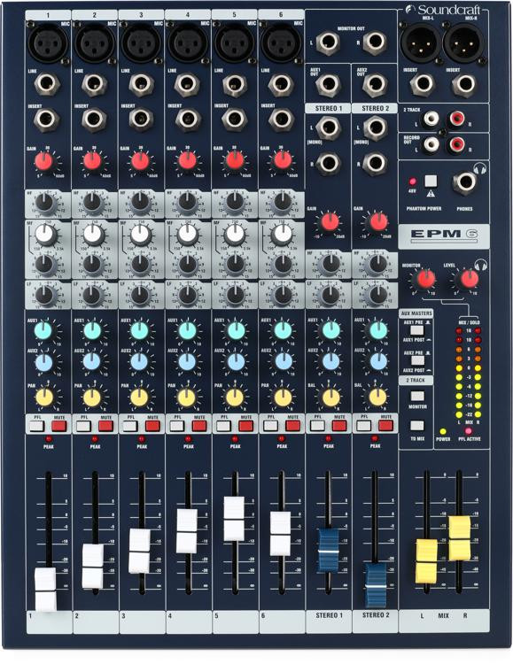 Soundcraft EPM6 image 1