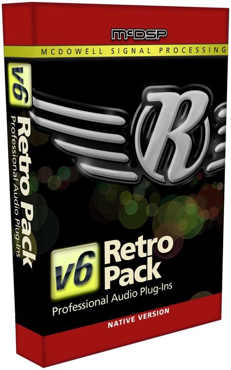 McDSP Retro Pack Native v6 Plug-in Bundle image 1
