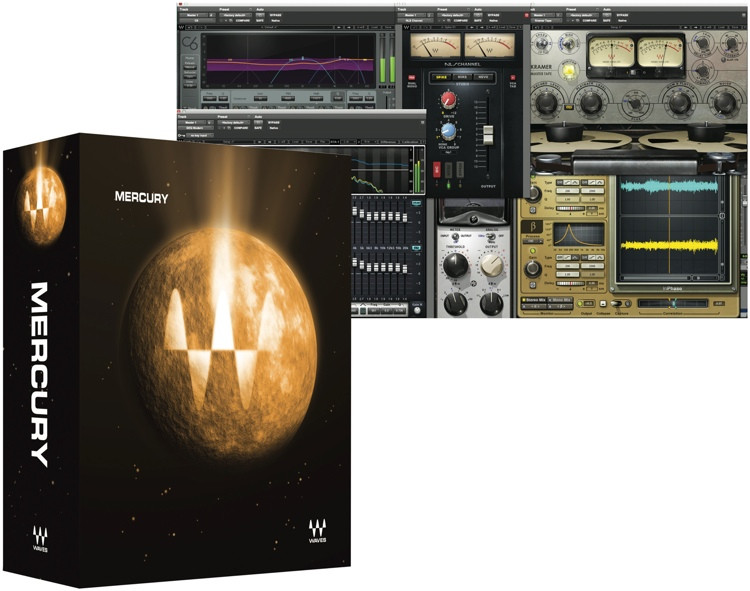 Waves Mercury Plug-in Bundle - 1-year Subscription image 1