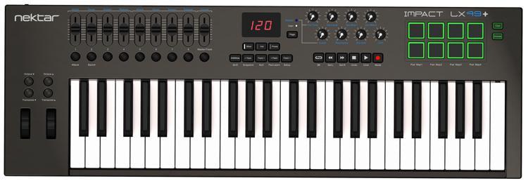 Nektar Impact LX49+ Keyboard Controller image 1