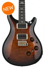 PRS Custom 24 Piezo Figured Top - Black Gold Wrap Burst with Pattern Thin Neck
