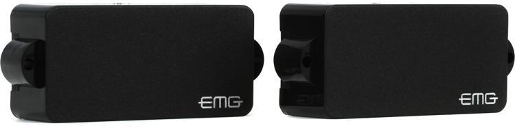 EMG P BK Active Ceramic P-Bass Pickup Black image 1
