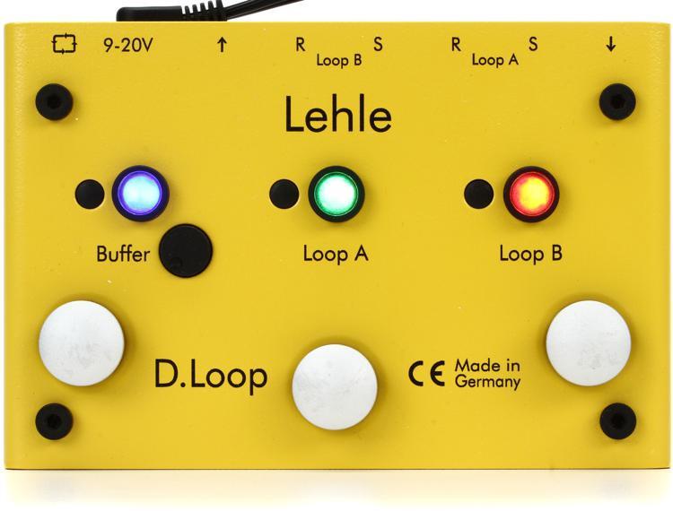 Lehle D.Loop SGoS Effects Loop Switcher Pedal image 1