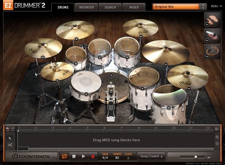Toontrack EZdrummer 2 (download) image 1