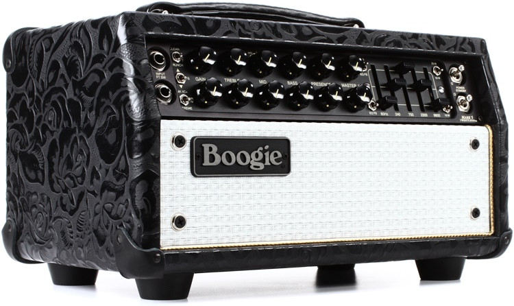 Mesa/Boogie Mark Five:25 - 25/10-watt Tube Head - Black Floral with White Grille image 1