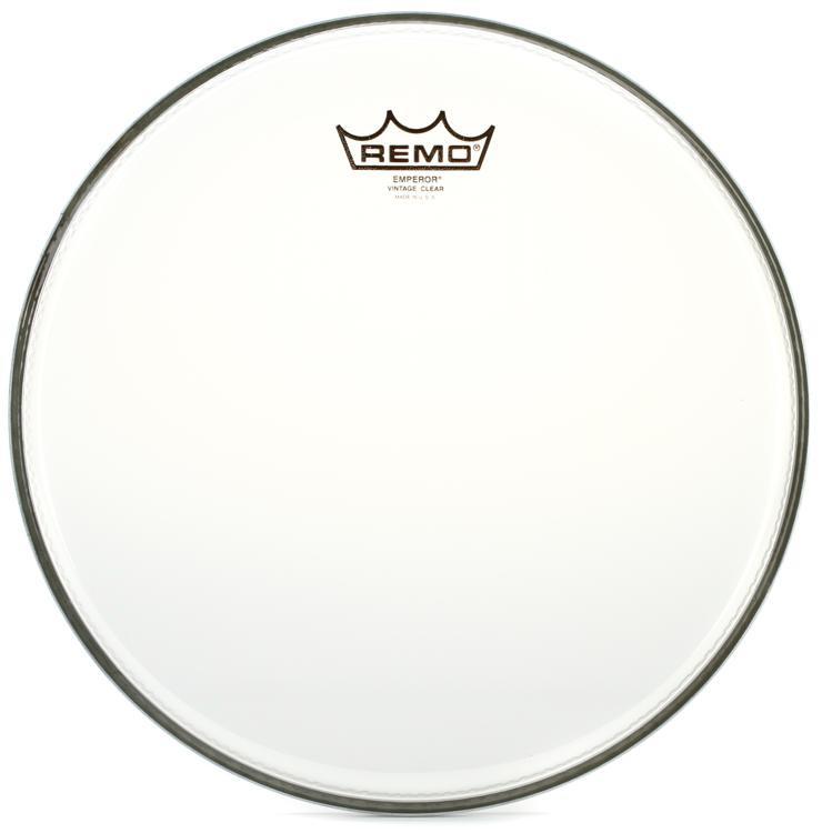 Remo Vintage Emperor Clear Drum Head - 12