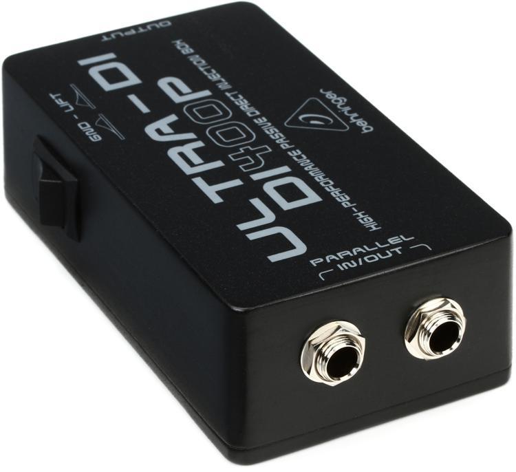 Behringer Ultra-DI DI400P 1-channel Passive Instrument Direct Box image 1
