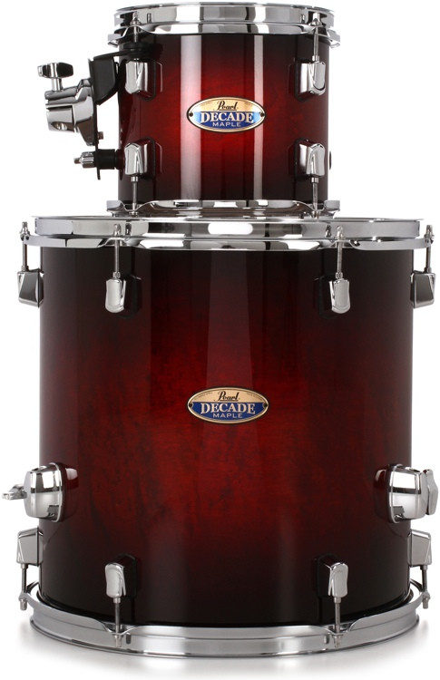 Pearl Decade Maple 2-piece Add-on Pack - Redburst image 1