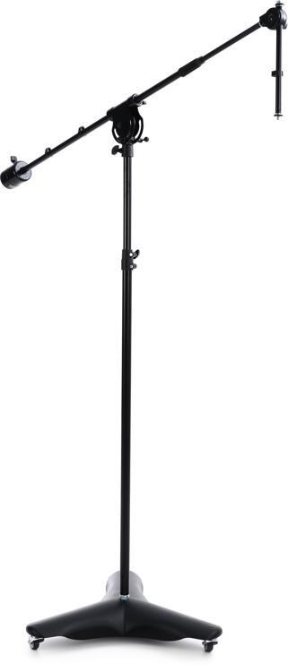 K&M 21430 Studio Boom Microphone Stand - Black image 1