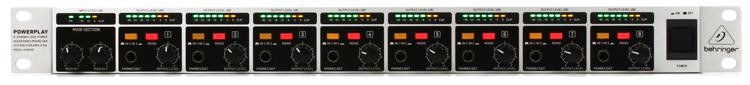 Behringer HA8000 V2 8-Ch Headphone Mixing/Distribution Amplifier image 1