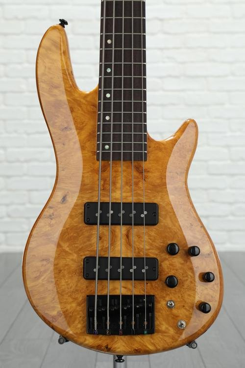 ESP LTD H-1005 Burled Maple - Honey Natural