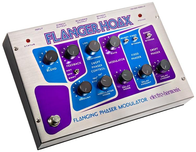 Electro-Harmonix Flanger Hoax Phaser / Flanger / Modulator Pedal image 1