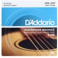 D'Addario EJ38 Phosphor Bronze Light 12-String Acoustic Strings