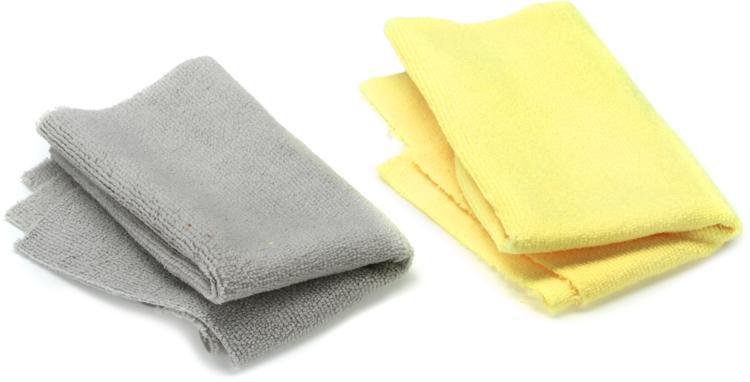 MusicNomad Edgeless Microfiber Drum Detailing Towels - 2 pack image 1