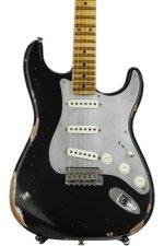 Fender Custom Shop El Diablo Strat Heavy Relic - Aged Black