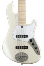 Lakland Skyline Darryl Jones 5-String - White Pearl, Maple