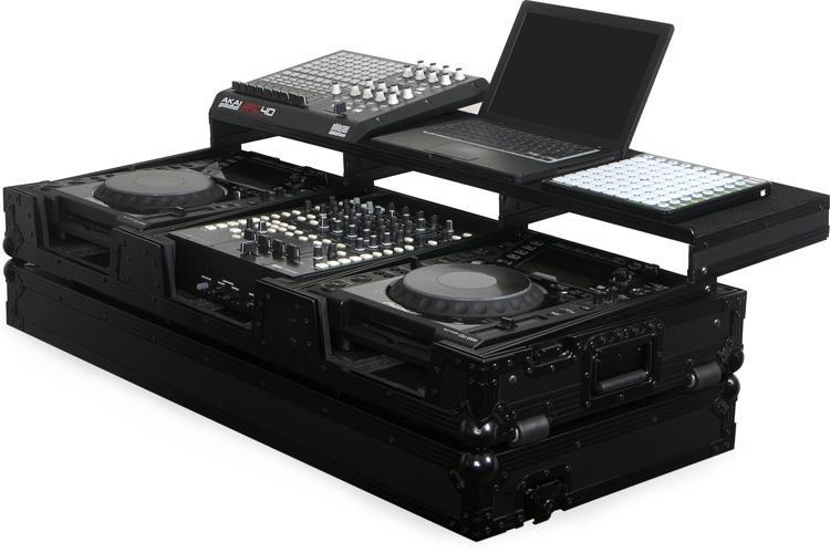 Odyssey FZGSP12CDJWBL Black Label Remixer Glide Style DJ Coffin image 1