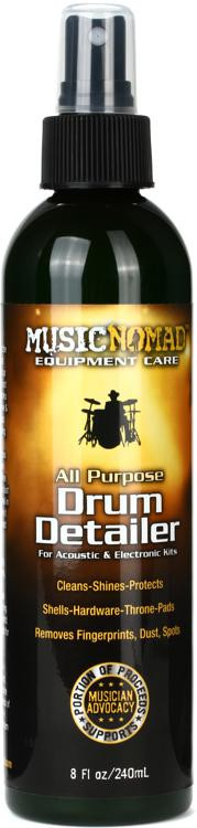 MusicNomad Drum Detailer - All Purpose for Cymbals, Hardware & Shells image 1