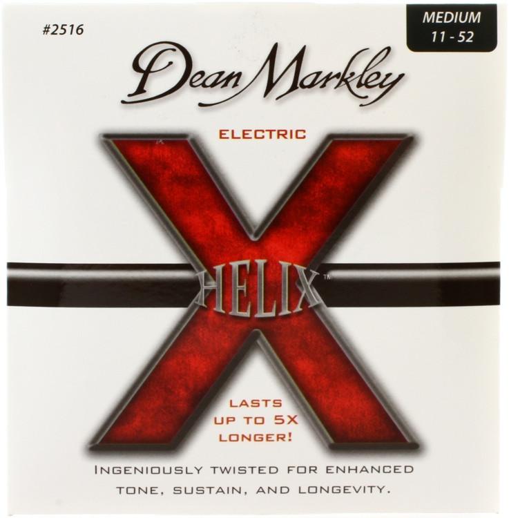 Dean Markley 2516 Helix HD Electric Guitar Strings - .011-.052 Medium image 1