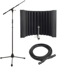sE Electronics ReflexionX Pack - w/ K&M Mic Stand & Mogami Mic Cable