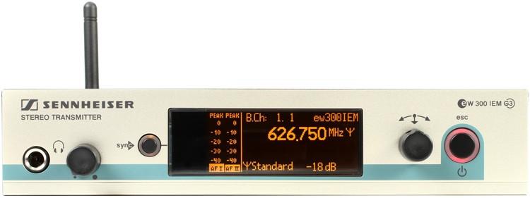 Sennheiser SR 300 IEM G3 - A Band image 1
