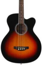 Takamine GB72CE Jumbo Acoustic Electric Bass - Sunburst