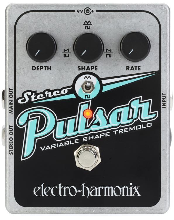 Electro-Harmonix Stereo Pulsar Tremolo Pedal image 1