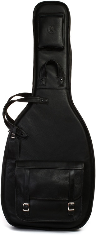 Levy\'s Leather Electric Semi-Hollow Gig Bag - Black image 1