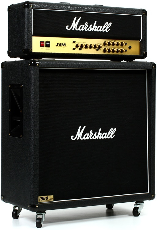 Marshall JVM210H/1960B Straight Half Stack Package image 1