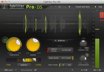 FabFilter Pro-DS Plug-in image 1