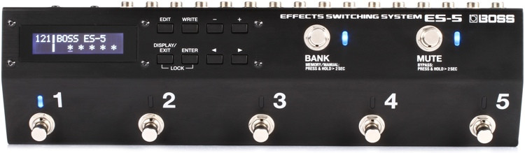 Boss ES-5 Effects Switching System image 1