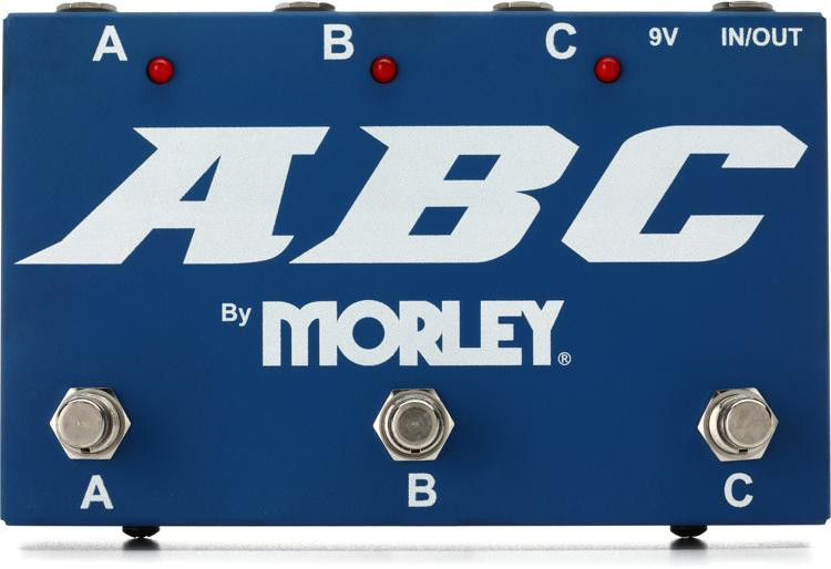 Morley ABC 3-Button Switcher/Combiner Pedal image 1
