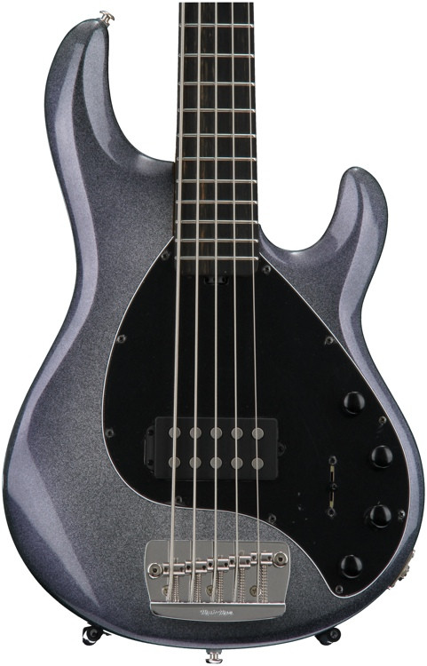 ernie ball music man stingray 5 single humbucker starry night natural headstock sweetwater. Black Bedroom Furniture Sets. Home Design Ideas
