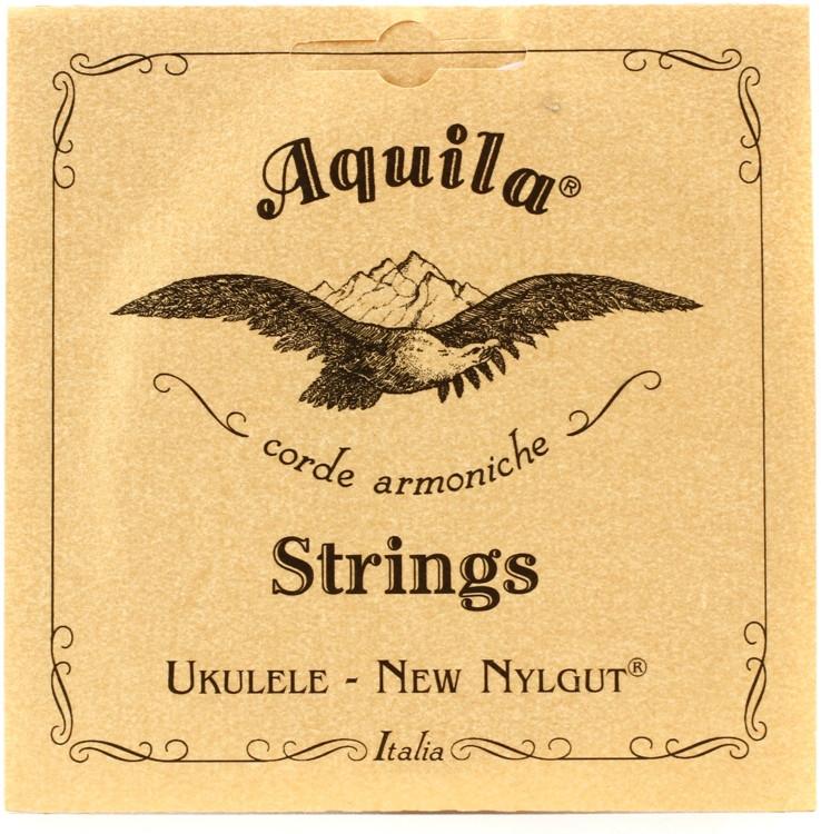 Aquila USA 23U Regular G Baritone Ukulele String Set - All Nylgut image 1