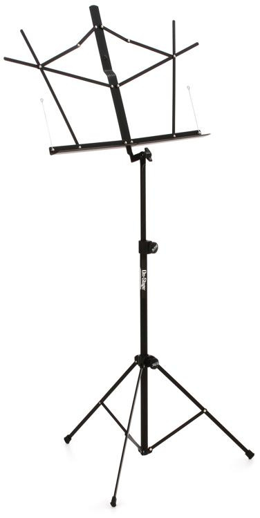 On-Stage Stands SM7122BB Compact Folding Music Stand with Bag image 1